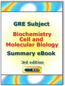 GRE Biochemistry Summary eBook Cover