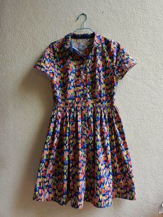 Sewing and so on: My first Cami dress...