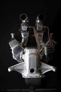 All about the details. Ford Y Block engine for a speed boat.
