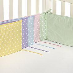 TL Care® Polka Dot Crib Bumpers