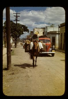 Bringing product to market, Cabo RojoMar. 1948.by t13hman, via Flickr