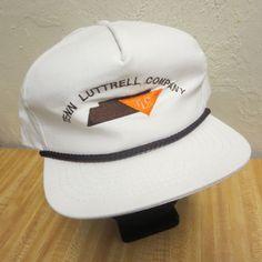 Tenn Luttrell Company Trucker Snap Back Snapback Hat Cap  Unbranded   BaseballCap Snap Backs c91698b87