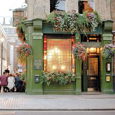 See the Globetrotter's Guide to World Hot Spots.Just north of Soho, near bustling Oxford Street, sits central London's hidden neighborhood: Fitzrovia. Home to louche, boho types in the late London Tours, London Travel, Bar Madrid, The Places Youll Go, Places To Go, London Neighborhoods, British Pub, British Isles, British Museum