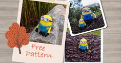 Despicable Me Minion Crochet Pattern Version 2 (Free) ~ Snacksies Handicraft Corner