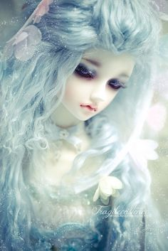Breathtaking and wonderous doll.  Her colors and light and airy and she fits right in .. bjd