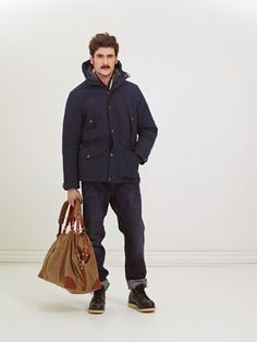 Peak Performance Fall Collection 2012, Stan three-in-one jacket, Ardal weekendbag in waxed canvas and solid leather