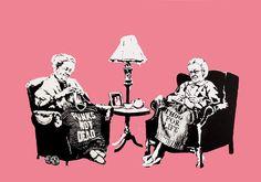 Banksy - Grannies