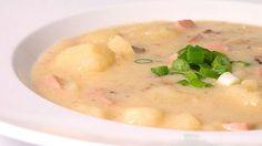 Come fare una zuppa di patate e gamberetti
