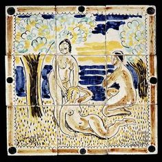 tiles by Vanessa Bell for Omega Workshop