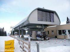 Welschnofen (Karerpass)   Die 8-MGD Anlage Hubertus von Doppelmayr, aus dem Jahr 2008.  #Italia #Seilbahntechnik #Ski #EUB