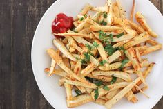 Parsnip Fries: Not French, Not Fried and Not Potatoes