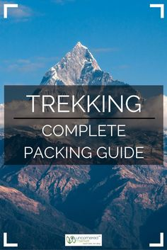 How to Pack for a Tr