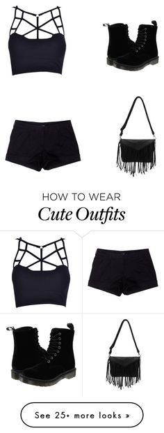 """""""My First Polyvore Outfit"""" by jegvarirebeka on Polyvore featuring Prada Sport and Dr. Martens"""