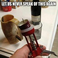 Don't buy red wine without a cork...ever.