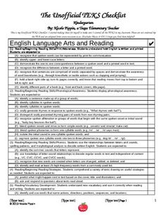 English Language Arts Standards
