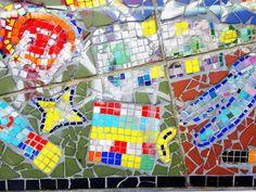 shoreditch london street art tiles