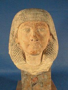 Where is the statue of nedjemu?