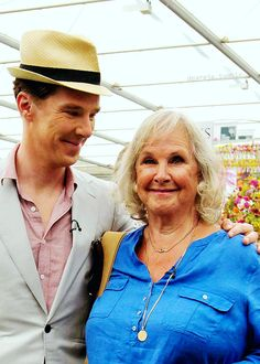 Aww! He loves his mum! You can tell just by the way he looks at her. What a son. A day with Mum.
