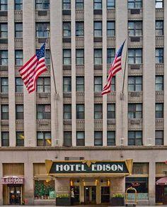 flychecker-hotel & flight deals - Edison Hotel New York City