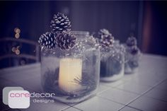 DIY Jars with Light for the Holidays
