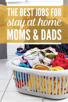 Do you stay at home? Do you want to make some extra cash while taking care of your kiddos? Here are 6 of the best jobs you can do from home to start earning the extra income you need. http://ptmoney.com/best-jobs-for-stay-at-home-moms-and-dads/