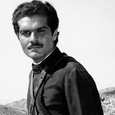 Omar Sharif- Remembered most recently for his role a an Arabian sheik in Hidalgo, but I recall him as the villain in Gregory Peck's, McKenna's Gold from 1969.