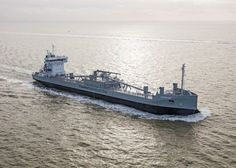 Ship Photos of the Day – MV Greenland, World's First LNG-Powered Dry Cargo Ship