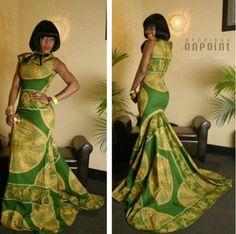 Ankara gorgeous gown