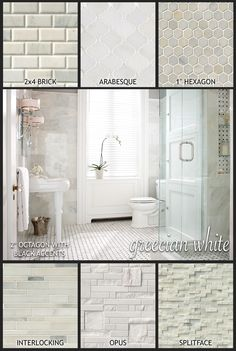 Our Dreamy Greecian White Marble Mosaic Collection Offers A Variety Of Designs To Give You