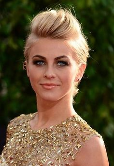 Julianne Hough Hairstyle 2013 With Prom Updo Hairstyle