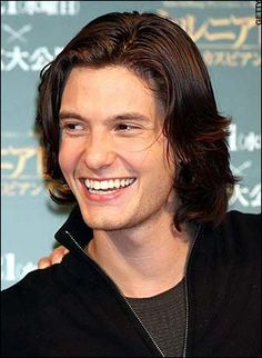 Ben Barnes with his gorgeous smile!