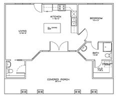 1000 images about shop w living quarters on pinterest for Pool house plans with living quarters