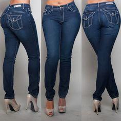 PZI Grace Skinny Leg Jean