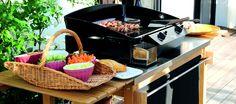Aménagement d'une cuisine d'extérieure avec La Plancha Tradition ENO
