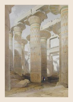 BY DAVID ROBERTS.....1842..1848...EGYPT NUBIA......SOURCE THE - ANCIENT - PHARAOHS.BLOGSPOT.FR......