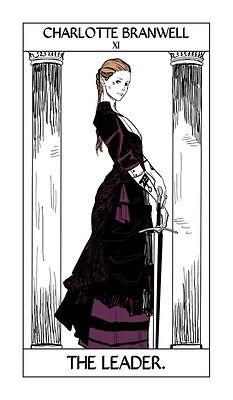 Charlotte branwell, tarot card,