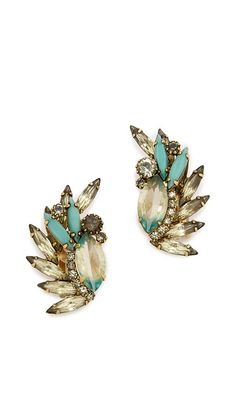 fdcdc50e72272f Elizabeth Cole Knite Earrings Funky Fashion, Tiffany Blue, Bridal  Accessories, Women Jewelry,