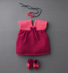 Kız Bebeklere Örgü Elbise Modelleri http://mimuu.com/kiz-bebeklere-orgu-elbise-modelleri/