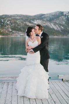 Lake Tahoe wedding captured by Lover of Weddings