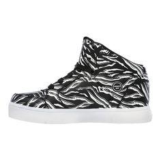 924ac2724a0 Skechers Kids  Energy Lights Glow Shoes - Black White