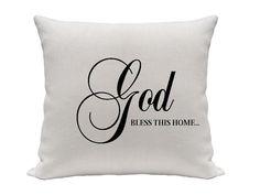 Religious Pillow  Decorative pillow  Throw pillow  by gracioushome, $18.00