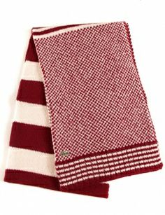 Lacoste Live Knitted Scarf - Pinot