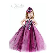 ThanksLil Miss Haute Glamour Girls Zebra Tutu Dress, Girls Animal Print Dresses, Zebra Outfits, Custom Boutique Zebra Outfit, Designer Dresses, Hot Pink, Shocking Pink Tutus, Tutu Outfits, Birthday, Punky Rock, Glamour, Posh, Couture, Infant, Toddler, Newborn found on Polyvore awesome pin