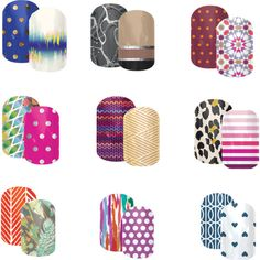 """""""jamberry combos 6"""" by jaxx2307 on Polyvore"""