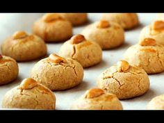 Best Peanut Cookies Recipe made at Home (MELT IN YOUR MOUTH) - YouTube Peanut Cookie Recipe, Peanut Cookies, Cookie Recipes, Yummy Treats, Yummy Food, Melt In Your Mouth, Special Recipes, Donuts, Squares