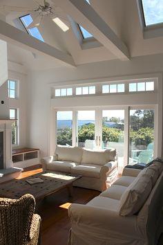 skylight and beams