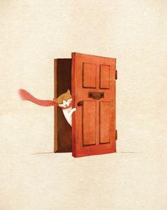 늄늄 the cat #cat #illustration