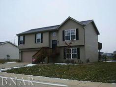 For sale $135,000. 3008 Geranium, Bloomington, IL 61705