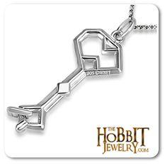 The Hobbit An Unexpected Journey Thorin's Key to Erebor Pendant  http://www.thehobbitjewelry.com/the-hobbit-jewelry-7/thorins-key-to-erebor-10/