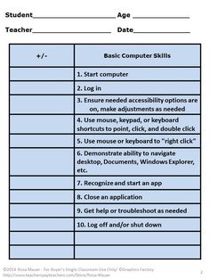 Printables Basic Computer Skills Worksheets computer technology lessons with worksheets for 4th 5th graders use this assessment tool to screen basic skills word processing internet basics